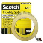 Scotch translucent double-sided adhesive tape - length 33 m