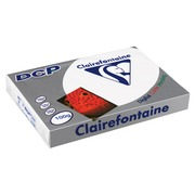 Ream of mat paper 500 sheets Clairefontaine DCP A3 100 g white