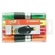 Stabilo Luminator, set of 4 highlighters, assorted colours