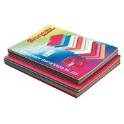 Pack of 50 sleeves 210 g and 100 subsleeves 80 g Bruneau assorted colours