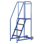 Stepladder on wheels 4 steps