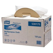 Box of 120 non woven cloths Tork Premium Strong