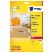 Package of 200 address labels Avery L 7565 99,1 x 67,7 mm for laser printer
