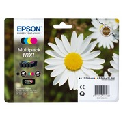 Pack of 4 cartridges Epson 18XL