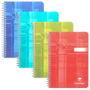 Notebook spiral binding 148x210 mm 180 pages 5x5 Clairefontaine