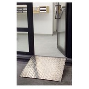 Access ramp aluminium