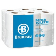 Toilet paper triple tickness Grand Confort Bruneau - Box of 36 rolls with 150 sheets