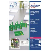 Business card double Premium Avery