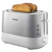 Philips Viva Collection HD2637 - toaster - white