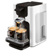 Philips Senseo Quadrante HD7865 - koffieapparaat - glinsterend wit
