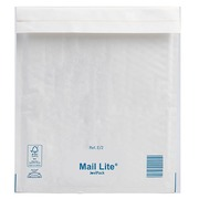 Mail Lite Air Bubble Envelopes Kraft Paper White 220 x 260 mm 92 g - 100 pieces