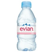 Mineral water Evian bottle 33 cl - pack of 24