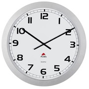Giant wall clock grey - 60 cm