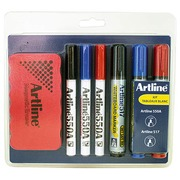 Kit Artline with accessories for whiteboard