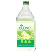 Ecological dishwashing liquid Ecover lemon and aloe vera - bottle of 0,95 L