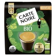 Coffee pads Carte Noire Bio - pack of 32
