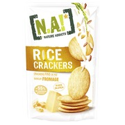 Box with Na! Rice crackers cheese - box of 70 g