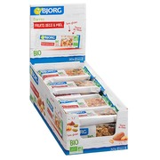 Bar dried fruit and honey gluten-free Bio Bjorg - bar of 25 g