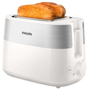 Philips Daily Collection HD2515 - toaster - white