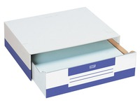 Cardboard drawer boxes Fast A3 - Set of 10