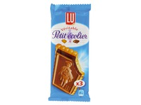 Pocket size 37,5 g biscuits Petit écolier LU milk chocolate
