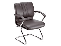 Meeting chair Zora in leather classic