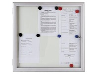 Outdoor display case 6 Reverso sheets