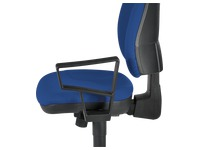 Pair of fixed armrests for chair Bruneau