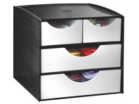 Storage module with 4 drawers Take a Break