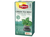 Box of 25x tea bags Lipton tea green mint