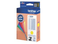 Cartridge Brother LC223 aparte kleuren voor inkjetprinter