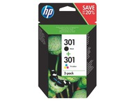 Pack cartridges HP 301 4 kleuren voor inkjetprinter
