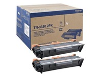 TN3380TWIN BROTHER HL5440 TONER BLK(2)HC