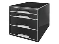 Classifying module Leitz Wow 4 drawers black