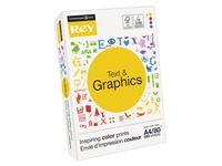 Papier A4 wit 80 g Rey Text & Graphics - riem van 500 vellen