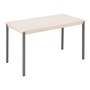 Multi-use eco table 160 x 80 cm beige